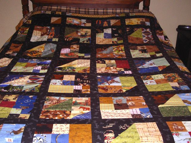 Ruth C's Scrap Pile Mystery Quilt