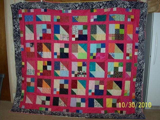 Louise's Scrap Pile Mystery Quilt