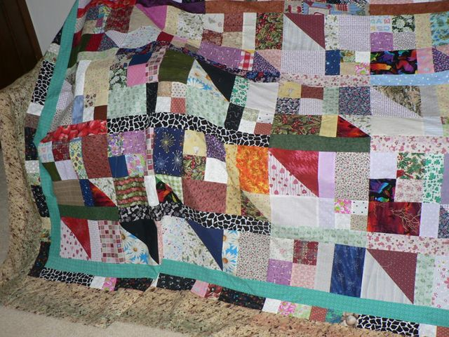 Nancy's (from Indiana) Scrap Pile Mystery Quilt